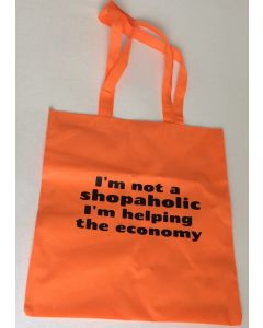 Tas I'm not a shopaholic I'm helping the economy