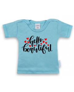 Hello beautiful - shirt korte mouwen