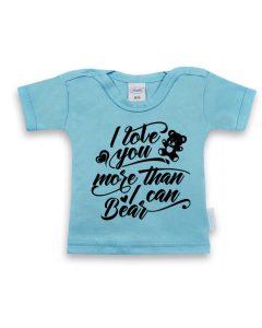 I love you more than I can bear - shirt korte mouwen