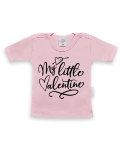 My little Valentine - shirt korte mouwen